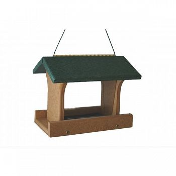 Going Green Recycled Plastic Ranch Bird Feeder - 10  X 8  X 8