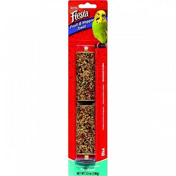 Fiesta Fruit/ Veggie Treat Stick - Parakeet / 3.5 oz.