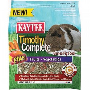 Timothy Complete + Fruits & Vegetables Guinea Pig - 5 lb.