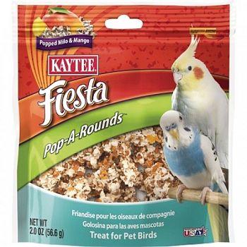 Fiesta Pop-a-rounds Treat - Mango / Pet Birds - 2 oz.