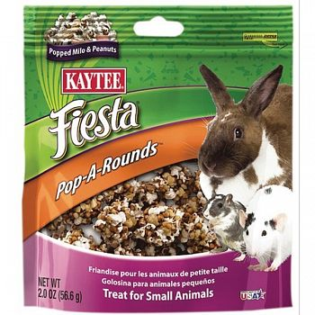 Fiesta Pop-a-rounds Treat - Small Animals - 2 oz.