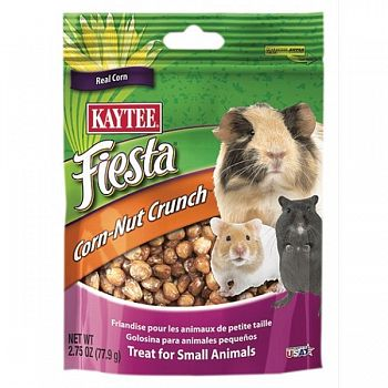 Fiesta Corn-nut Crunch Treat - Small Animals - 2.75 oz.