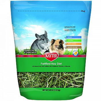Vitamin Hay Diet Guinea Pig And Chinchilla - 5 lb.
