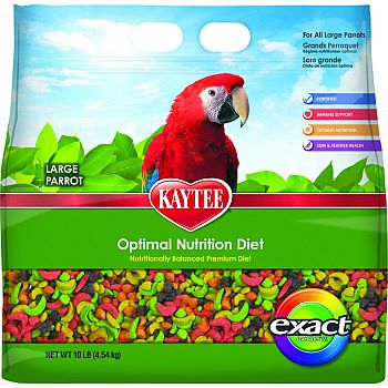 Exact Rainbow Optimal Nutrition Diet Large Parrot  10 POUND