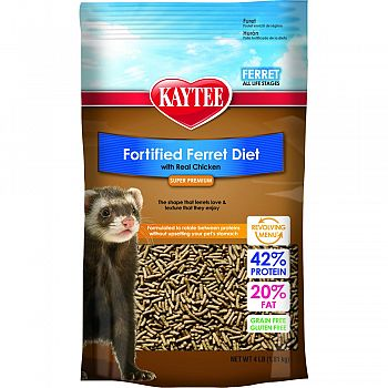 Fortified Ferret Diet CHICKEN 4 POUND