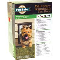 Wall Entry Aluminum Dog Door  SMALL