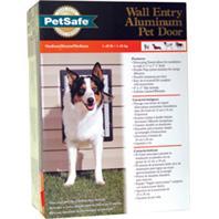 Wall Entry Aluminum Dog Door  MEDIUM