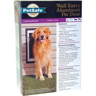 Wall Entry Aluminum Dog Door  LARGE