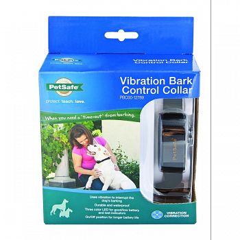 Vibration Bark Control Collar BLACK