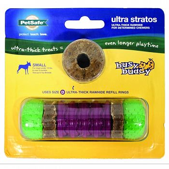 Busy Buddy Ultra Stratos PURPLE/GREEN SMALL