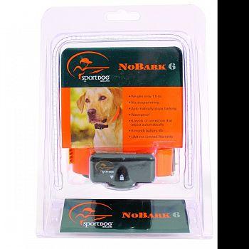 Sportdog Bark Control No Bark BLACK/ORANGE