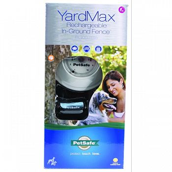 Yardmax Rechargeable In-ground Fence WHITE 1/3 ACRE