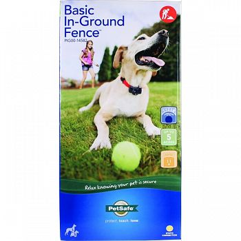 Basic In-ground Fence System  UP TO 5 ACRE
