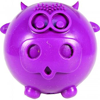 Busy Buddy Cow-wow Treat Dispenser For Dogs PURPLE SMALL