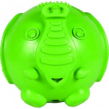 Busy Buddy Elephunk Treat Dispenser For Dogs GREEN SMALL