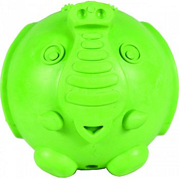 Busy Buddy Elephunk Treat Dispenser For Dogs GREEN MEDIUM/LARGE