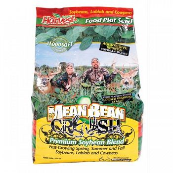 Mean Bean Crush Premium Soybean Blend - 1/4 ACRE/10 lb.