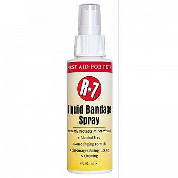 R-7 Liquid Bandage Spray for Pets 4 oz.