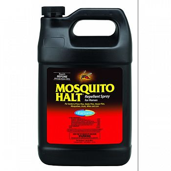 Mosquito Halt Repellent Refill For Horses  1 GALLON (Case of 4)