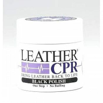 Leather CPR Boot Polish - Black / 4 oz.
