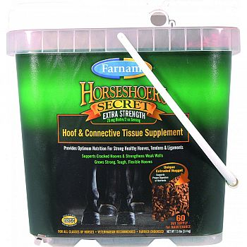 Horseshoer S Secret Extra Strength  7.5 POUND