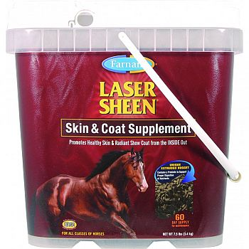 Laser Sheen Skin And Coat  7.5 POUND
