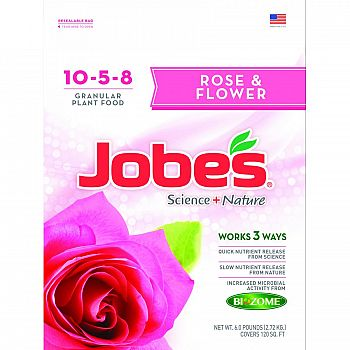 Jobes Rose & Flower Synthetic Fertilizer - 6 lb.