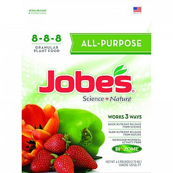 Jobes All Purpose Synthetic Fertilizer - 6 lb.