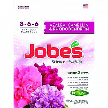 Jobes Azal/cam/rho Synthetic Fertilizer - 6 lb.