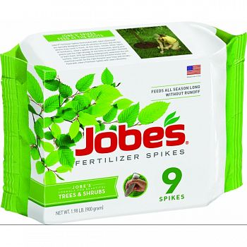 Jobes Tree Fertilizer Spikes  9 PACK