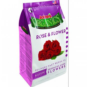 Jobes Granular Rose Plant Food  4 POUND