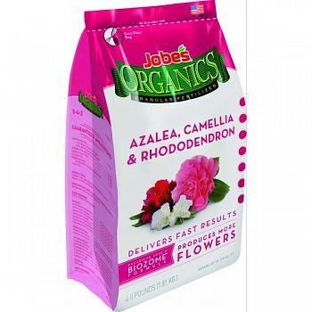Jobes Granular Azaleas/camellias/rhododendron Food  4 POUND