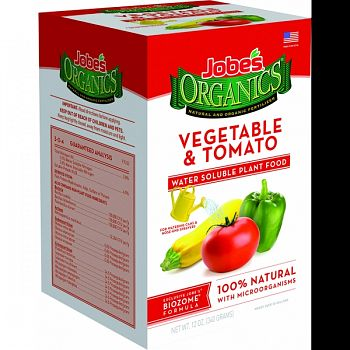 Jobes Organics Water Soluble Veg/tomato Plant Food  10 OUNCE
