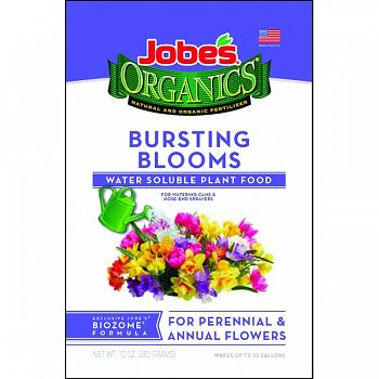 Jobes Organic Water Soluble Bloom Burst Plant Food  10 OUNCE