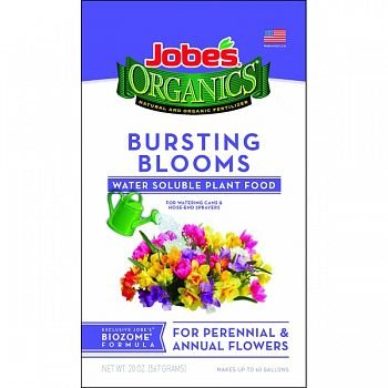 Jobes Organic Water Soluble Bloom Burst Plant Food  20 OUNCE