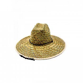 Mens Straw Hat Thin Weave