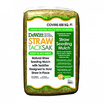 Straw Tacksak Seeding Mulch