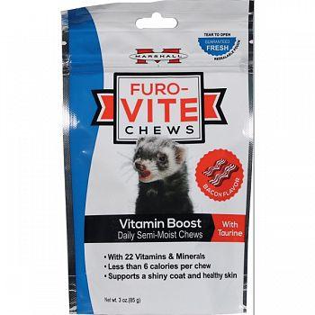 Furo-vite Vitamin Boost Chews BACON 3 OZ