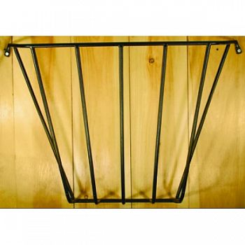 Wall Hay Rack BLACK 36X25X12 INCH