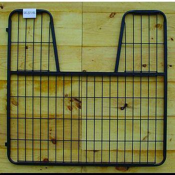 Stall Gate With Yoke BLACK 52 X 50.5 INCH