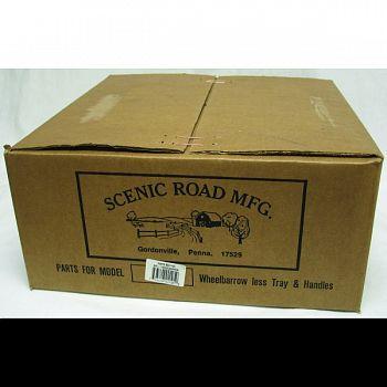 Scenic Road Wheelbarrow Parts Box - Single Wheel