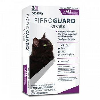 Fiproguard Flea & Tock Topical For Cats