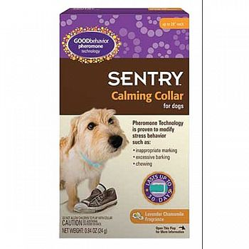 Sentry Calming Collar For Dogs - SINGLE ct.