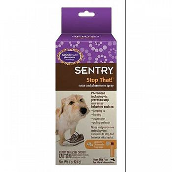 Sentry Stop That! Noise And Pheromone Spray - 1 oz.
