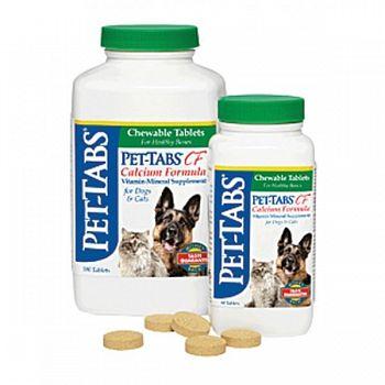 Pet-tabs Cf Chewable Tablets - Calcium Formula - 180 ct.