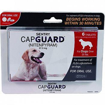 Sentry Capguard Flea Tablets Dog