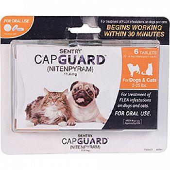 Sentry Capguard Flea Tablets For Dog Or Cat