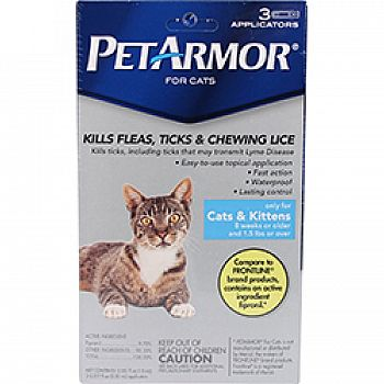 Pet Armor Flea And Tick Topical For Cats