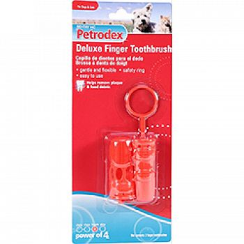Petrodex Deluxe Finger Toothbrush For Dog And Cat