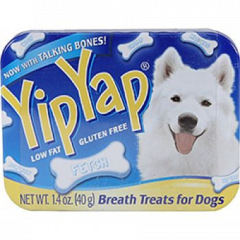 Chomp Yip Yap Dog Breath Treat Tin